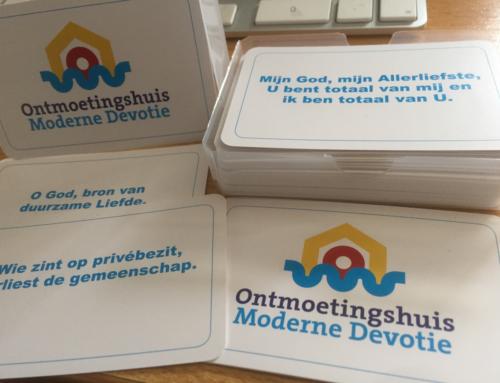 Ontmoetingshuis Moderne Devotie introduceert kaartspel