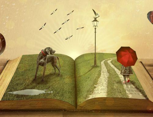Open Deur Dienst met verhalenverteller