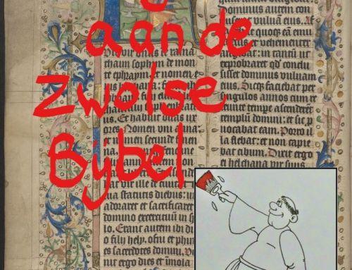 Schrijfmarathon Zwolse Bijbel